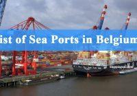Belgium Sea Ports